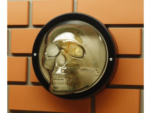 Светильник настенный череп